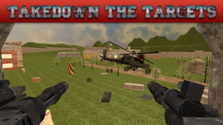 Gunship Rescue Force Battle Helicopter Attack Game screenshot-0