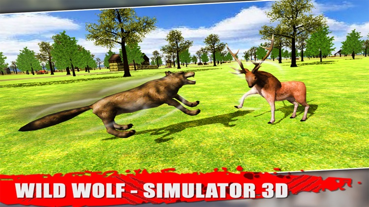Wild Wolf - Simulator 3D screenshot-3