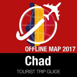 Chad Tourist Guide + Offline Map
