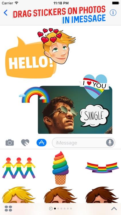 GAYJI - Gay Pride LGBT Emoji for iMessage