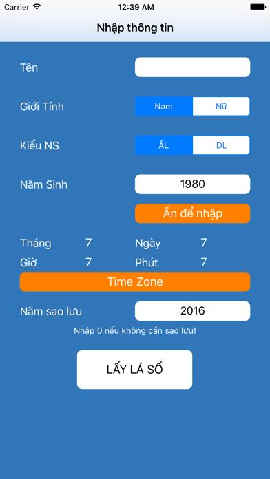 Tử Vi Toán Số ( Hoàng Quý Sơn ) screenshot four