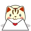 Kira the neko cat for iMessage Sticker