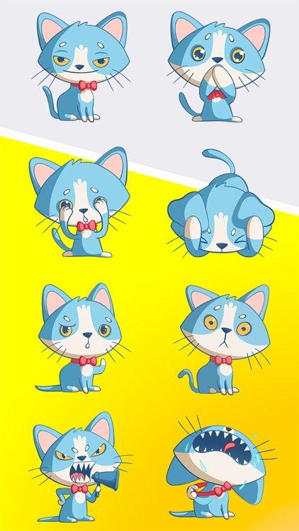 Tom The Cat Stickers Pack 1