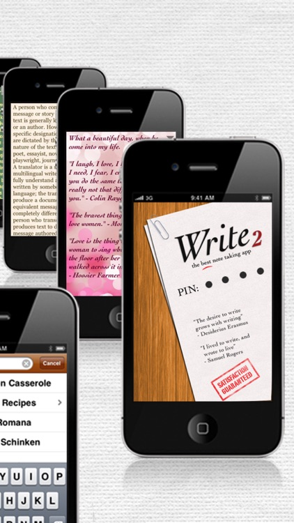 Write 2 Lite - Note Taking & Writing screenshot-3