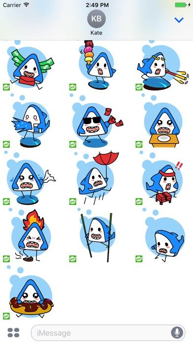 ステッカー,スタンプ,Hellowe Stickers: Iron Shark YoDoのスクリーンショット3