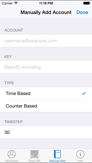 how to scan on iphone sophos authenticator on the app 4226