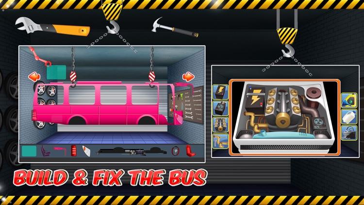 Bus Builder Mechanic – Auto Vehicles Factory