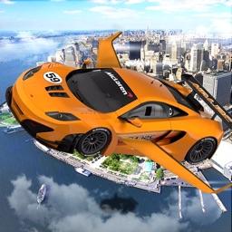 Real Flying Jet Car: Simulator futuristic Flight