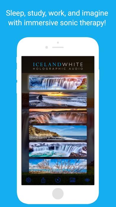 Iceland White: Noise Masking screenshot one