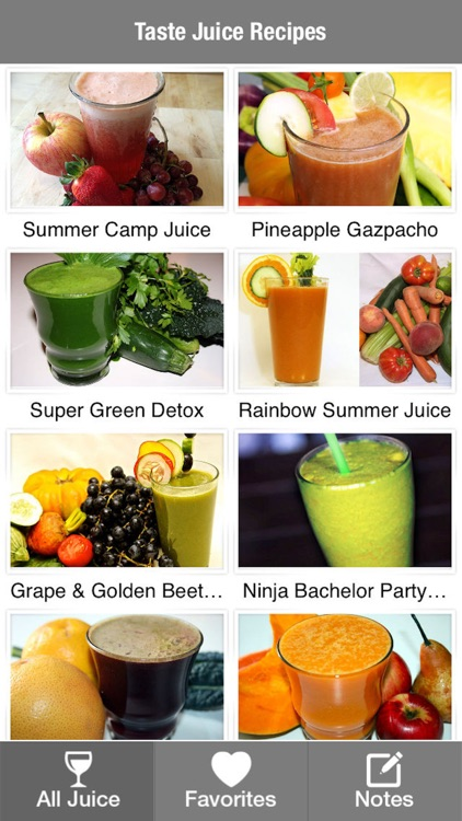 Taste Juice Recipes for Your Health & Body