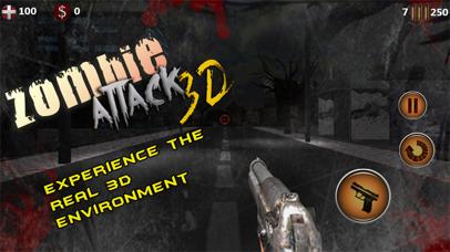 Zombie Attack 3D screenshot one
