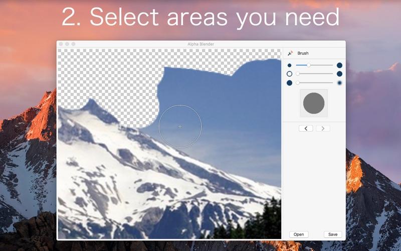 Alpha Blender PRO for Mac