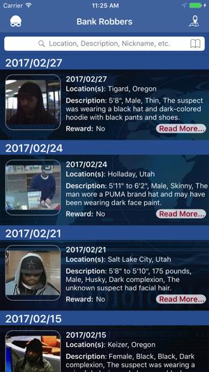 FBI Bank Robbers 4+