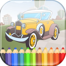 Cars Coloring Book Game for Kids