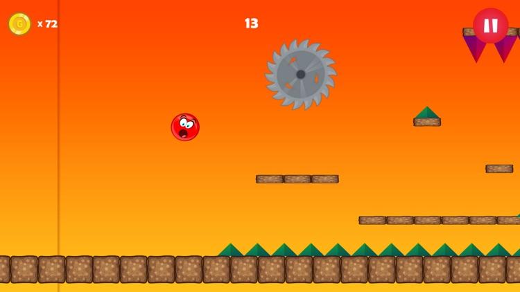 Red Ball Jumping Bounce screenshot-4