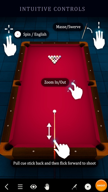 Pool Break Lite 3D Billiards 8 Ball Snooker Carrom screenshot-3