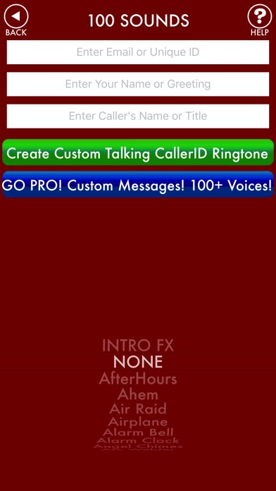 Screenshot for 100sounds + RINGTONES! 100+ Ring Tone Sound FX in Australia App Store