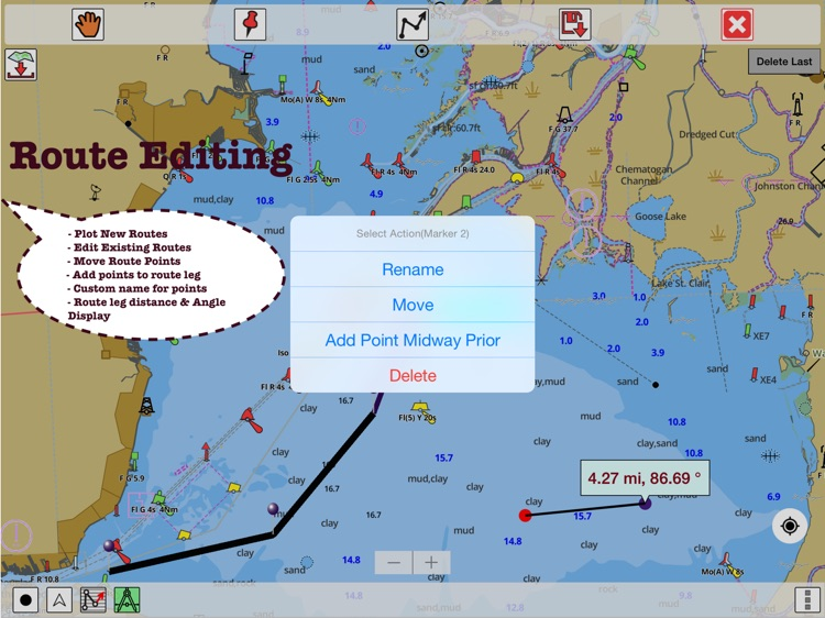 i-Boating: HD Marine Charts & Lake Fishing Maps screenshot-4