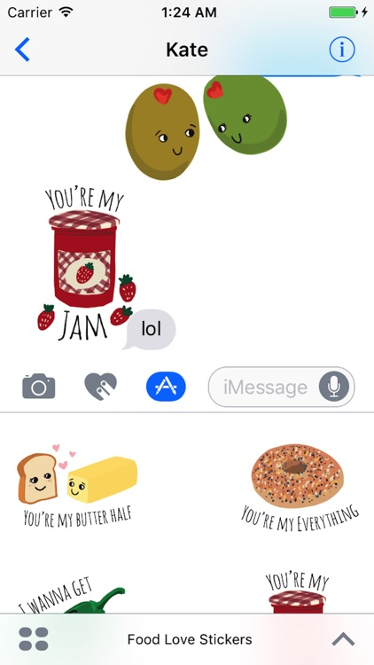 Food Love Sticker Pack screenshot-2