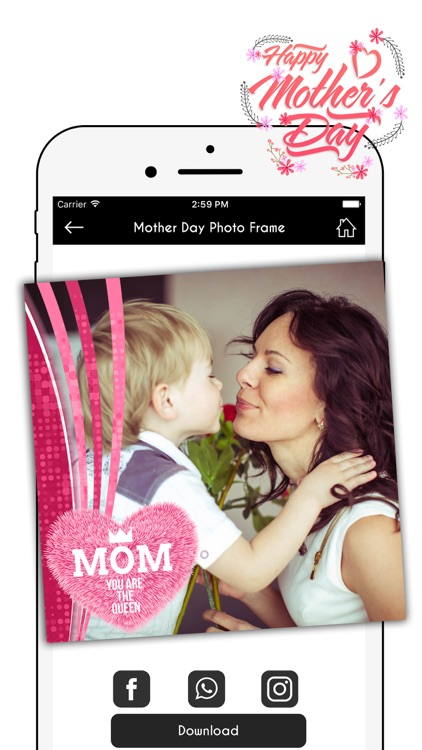 Happy Mother's Day Photo Frame screenshot-4