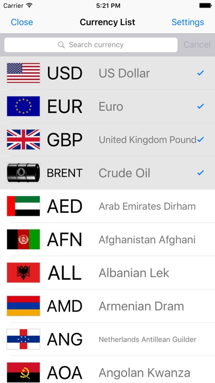 Currency+  Money converter screenshot-1