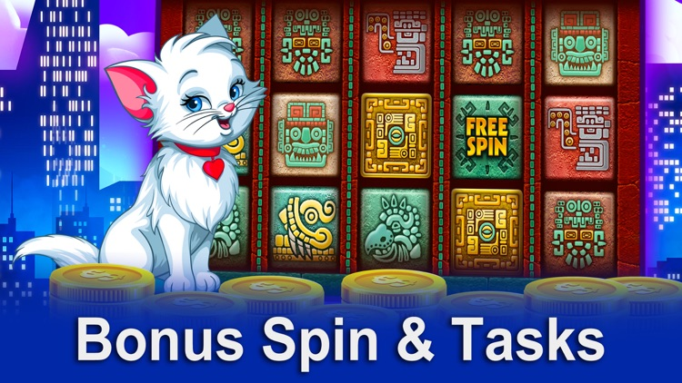 Slot Machine Games - Pretty Kitty screenshot-3