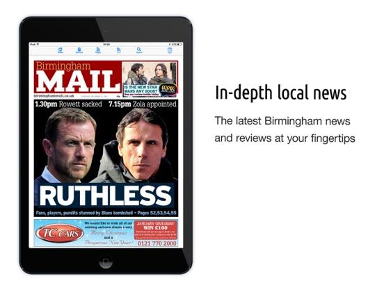 Birmingham Mail Newspaper | App Price Drops