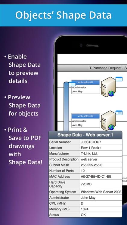 VSD Viewer - Best Viewer for VSDX, etc. drawings screenshot-3