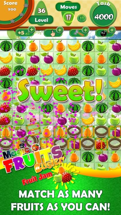 Magic Fruit Buster - Fruit Jam screenshot-4
