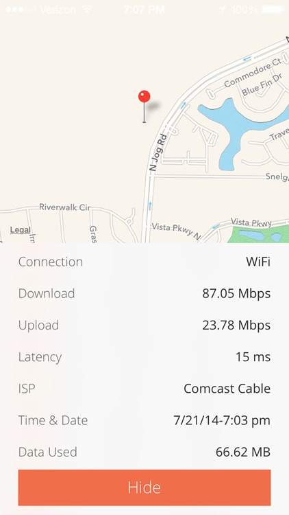 Quick Speed Test - WiFi & Mobile Download Test screenshot-3