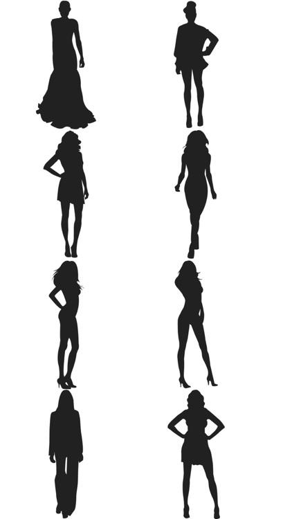 fashion silhouette description - 422×750