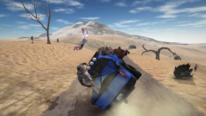 4 × 4 越野汽车驾驶模拟器 - 僵尸生存和极端山驾驶游戏 App 截图