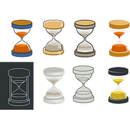 Hourglasses One Sticker Pack