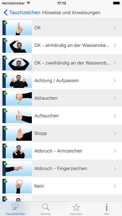 Screenshot for Tauchzeichen in Germany App Store