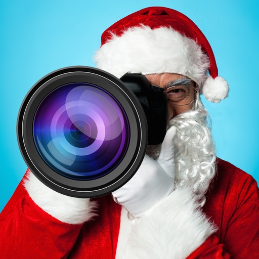 Santa Claus Merry Christmas Photo Booth