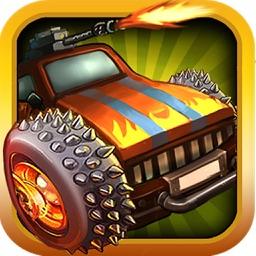 Zombie Road Highway:Free racing & shooting games