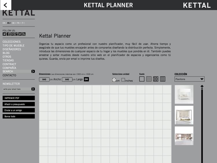 KETTAL: Timeless Design Outdoor Furniture screenshot-4