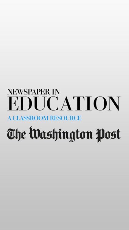 The Washington Post Newspaper in Education screenshot-4