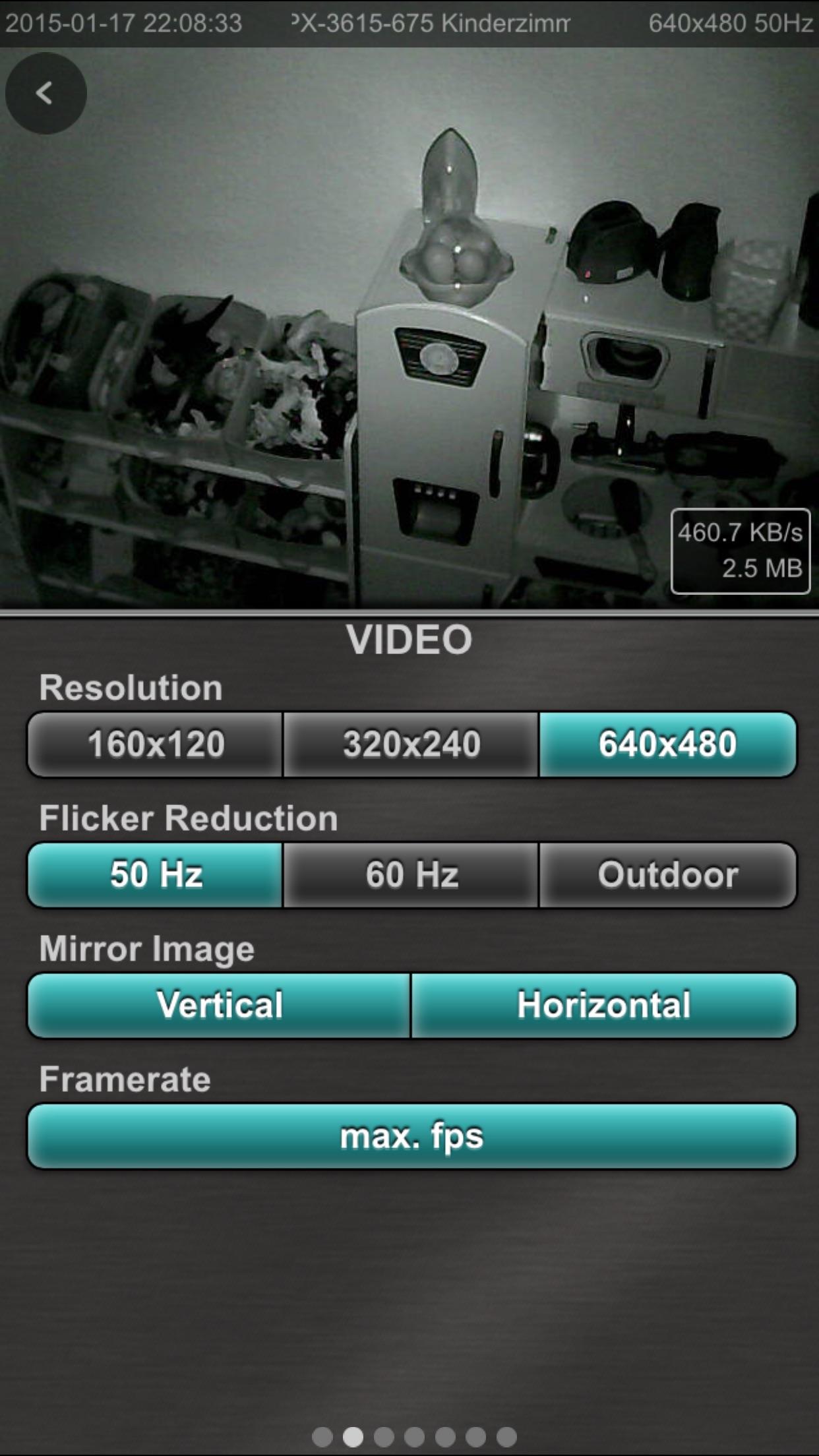 ipCam FC - para camaras ip Screenshot