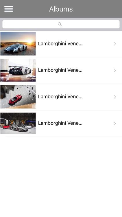 HD Car Wallpapers - Lamborghini Veneno Edition screenshot-3