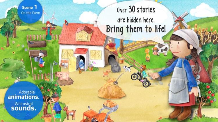Tiny Farm: Animal & Tractor App for Kids