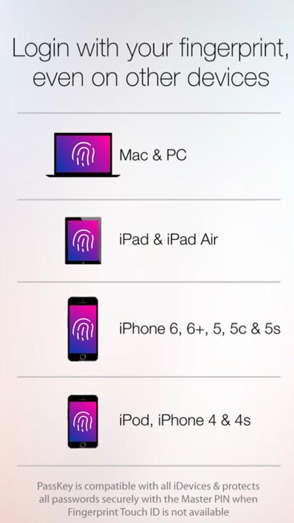 Fingerprint Login: PassKey Password & Apps Lock app image