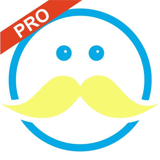 Moustachify - Pro Moustache Photo Fun - Moustache stickers, beard stickers, glasses stickers and cool frames