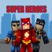 53.超级英雄皮肤 for 我的世界-超人&蝙蝠侠 for Minecraft (MCPE)