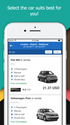 rental cars search find the economic rent a car on the app store rh apps apple com