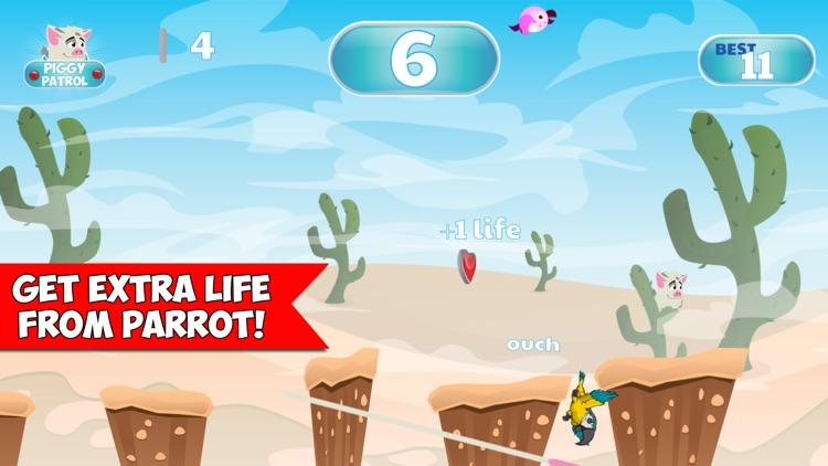 Piggy Patrol Jump Adventure screenshot-4