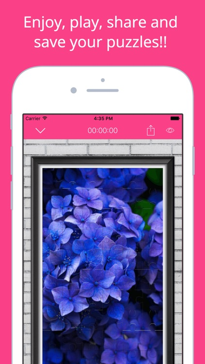 Flowers Puzzle - Play with your favorite flowers screenshot-4