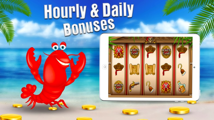 Free Casino Games - Lucky Lobster Slots screenshot-3