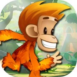 Monkey Kong Adventures - Waterfall bananas HD