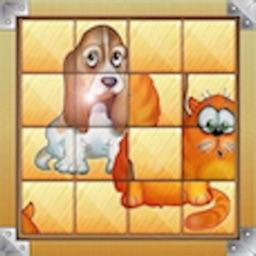 Sliding Puzzle - Classic Version Cool Puzzle..…